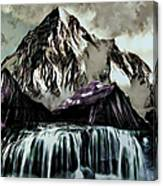 A Mountain To Think About Canvas Print