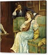 A Musical Interlude Canvas Print