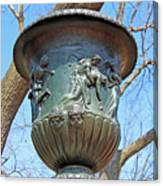 A Navy Yard Urn In Lafayette Square -- West Canvas Print