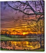 A New Day Dawns Canvas Print