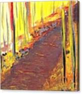 A New Fall Path Canvas Print