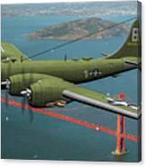 A New Kind Of Bird Over California - Oil Canvas Print