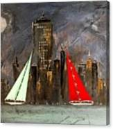 A New York Sail Canvas Print