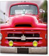 A Nice Red Truck  Canvas Print