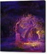 A Night Of Weeping In The Garden Gethsemane Israel 2008 Canvas Print