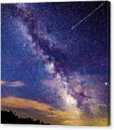 A Northern View Of The Milky Way Canvas Print