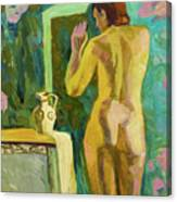 A Nude And Light Canvas Print