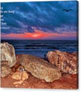 A Painted Sky For The Poet's Eye Canvas Print