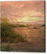 A Painted Sunrise Canvas Print