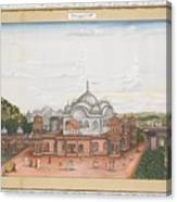 A Panoramic View Of Alwar Canvas Print