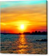 A Path To The Sun Canvas Print
