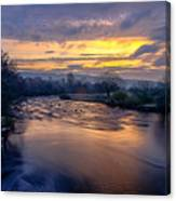 A Peaceful Morning Canvas Print
