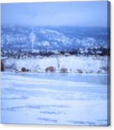 A Penticton Winter Canvas Print
