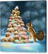 A Perfect Christmas Tree Canvas Print