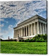 A Perfect Day In Washington Canvas Print