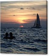 A Perfect Days End Canvas Print