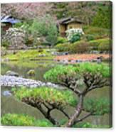 A Perfect Garden Canvas Print