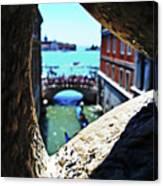 A Piece Of Venice Canvas Print
