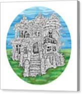 House Of Secrets Canvas Print
