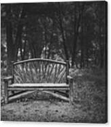 A Place To Sit 6 Canvas Print