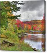A Place To View Autumn Canvas Print