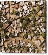 A Poor Neighborhood In Urban Maputo Canvas Print
