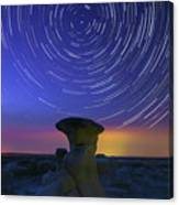 A Portal To Bisti Badlands Canvas Print