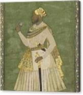 A Portrait Of Farhad Khan Canvas Print