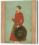 A Portrait Of Khan Zaman Canvas Print