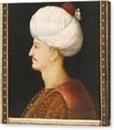 A Portrait Of Suleyman Canvas Print
