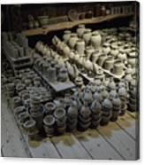 A Potter's Storehouse Canvas Print