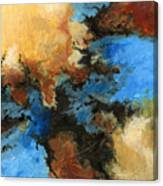 A Precious Few Abstract Canvas Print