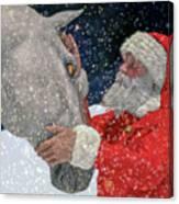 A Present For Santa Canvas Print