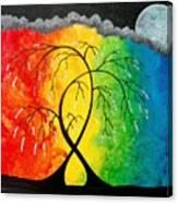 A Prism Night Dream Canvas Print