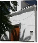 A Quiet Church Canvas Print