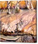 A Quiet Light Canvas Print