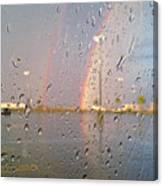 A Rainbow In My World #3 Canvas Print