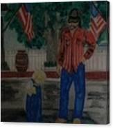 A Rainy July 4th Canvas Print