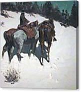 A Reconnaissance 1902 Canvas Print