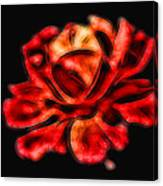 A Red Rose For You 2 Canvas Print
