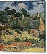 a replica of the landscape of Van Gogh Canvas Print