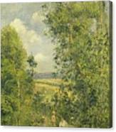A Rest In The Meadow Canvas Print