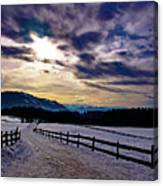 A Road To The Future Canvas Print