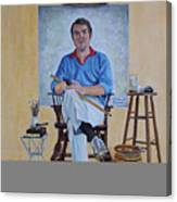 A Rockwell Tribute Canvas Print