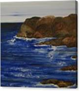 A Rocky Coast Canvas Print