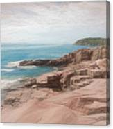 A Coastal Scene Canvas Print