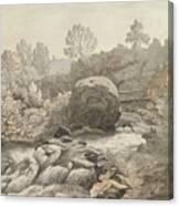 A Rocky Stream Canvas Print