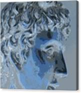 A Roman In Profile Canvas Print
