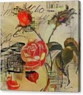 A Rose Story Canvas Print