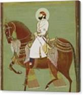 A Ruler On Horseback Canvas Print